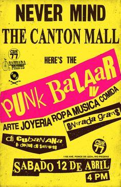 Punk Bazaar 4 @ Club 77, Río Piedras #sondeaquipr #punkbazaar #riopiedras #club77 #sanjuan