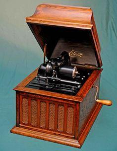 Edison Amberola phonograph