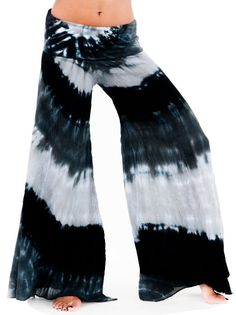 Amazon.com: Om Shanti Clothing Company Women's Tie Dye Gauze Pant with Rollover Waist: Clothing
