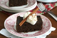Low Carb Slow Cooker Gingerbread