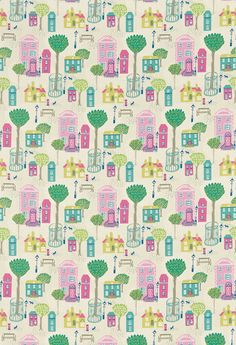Jubilee Square fabric by Sanderson