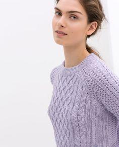 Image 5 of FANCY KNIT SWEATER from Zara