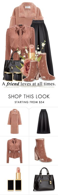 """""""Untitled #11924"""" by queenrachietemplateaddict ❤ liked on Polyvore featuring Zimmermann, Temperley London, Kendall + Kylie, Tom Ford and Kattri"""
