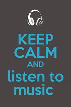 Keep calm and listen to music, because music is life! Music helps explain feelings that I can't. I guess because I'm a deep thinker I'm in touch with my music so much more than movies or tv. Music Is My Escape, Music Is Life, My Music, Music Lyrics, Music Quotes, Guitar Quotes, Tempo Music, A State Of Trance, Keep Calm Quotes