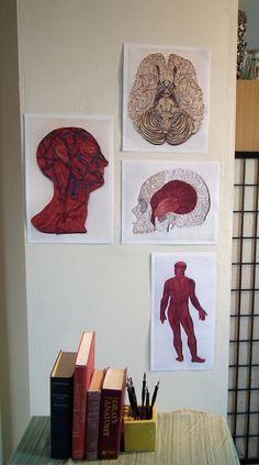 Skull poster Doctor Decor Print Minimalist by YakawonisQuilling