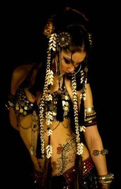 tribal, belly dancing