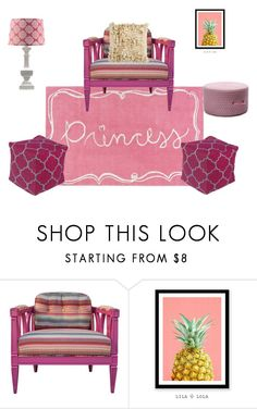 Princess's Corner by rugpal on Polyvore featuring interior, interiors, interior design, home, home decor, interior decorating, WALL and Surya