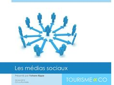 Les médias sociaux, une stratégie dans le tourisme by Tourisme_And_Co, via Slideshare