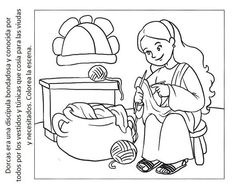 Coloring Sheet Naaman cleansed from leprosy by bathing in
