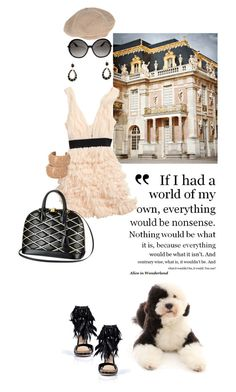 Fluff muff by pensivepeacock on Polyvore featuring polyvore fashion style H&M Paul Andrew Chanel Monique Péan Tom Ford Louis Vuitton clothing
