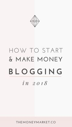 How to Blog for Mone