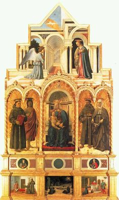 Polyptych of Perugia,Piero Della Francesca
