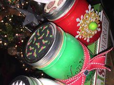 More Christmas jars