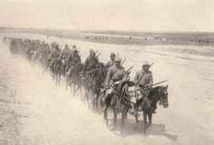Turkish cavalry in Palestine.