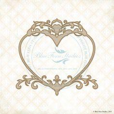 Royal Heart Frame