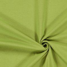 Cotton Jersey Medium 8 - 92% Cotton, 8% Spandex - apple green