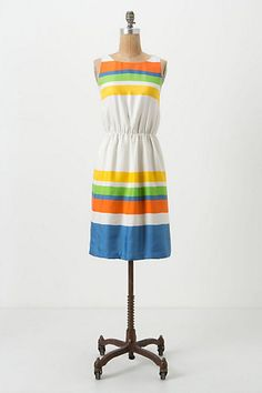 Essential Stripes Dress - Anthropologie.com