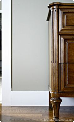 Beefing up the baseboards (without removing the old ones!) #DIY #tutorial