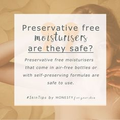 preservative free moisturisers are great for sensitive skin types. Preservatives keep skin safe from bacteria infested creams, but they can also be irritating to sensitive skin. Some preservative free moisturisers are no goes, these are must tries. Anti Aging Tips, Best Anti Aging, Anti Aging Skin Care, Skin Tips, Skin Care Tips, Face Cream For Wrinkles, All Natural Skin Care, Natural Beauty, Sensitive Skin Care