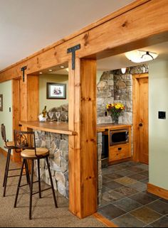 Creative Designs of Basement Window Covers for Your DIY Project Basement Bar Design, Pictures, Remodel, Decor and Ideas – Rustic bar love! Basement Bar Designs, Home Bar Designs, Basement Ideas, Basement Decorating, Basement Plans, Decorating Ideas, Walkout Basement, Open Basement, Cozy Basement