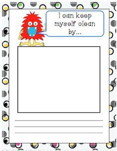 Germ Freebie....Bits of First Grade...Brigid's Daily Lesson Log