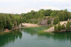 Elora Quarry, Elora 14 Natural Wonders You Won't Believe Are In Ontario Places To Travel, Places To See, Travel Destinations, Cheltenham Badlands, Ontario Place, Believe, Ontario Travel, Destin Beach, Vacation Trips