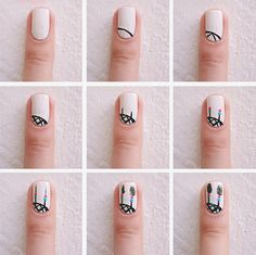 dreamcatch nail art tutorial
