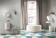 Italian Stoneware Pocelain and Ceramic Tiles - DeTails - Tagina Ceramiche; Onyx Marble, Concrete Design, Carpet Tiles, Bathroom Inspiration, Bathroom Ideas, Decoration, Wall Tiles, Tile Floor, Sweet Home