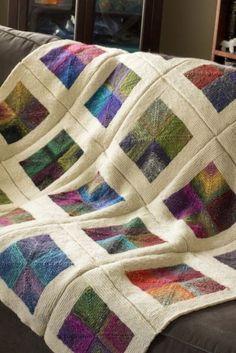 Knitted plaids | Knitting