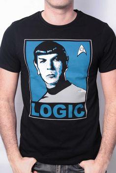 Fan de Star Trek? Offrez-vous ce magnifique T-Shirt Geek en guise de Cadeau ! - 19.99€ #Logostore