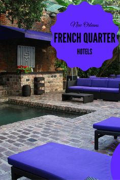 The French Quarter's New Orleans Hotel Collection Croatia Travel, Italy Travel, Usa Travel, Hotel In French, Us Destinations, Holiday Destinations, New Orleans Hotels, New Orleans French Quarter, Las Vegas Hotels