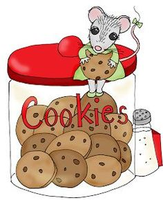 Free Dearie Dolls Digi Stamps: Cookies Mousie