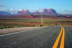14 estradas que merecem uma paradinha.  Monument Valley, Estados Unidos