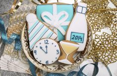 Ring in the New Year with sweets. #newyears #2014cookies