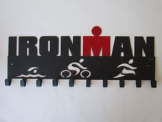 Official Ironman Medal Hanger Medal Display 10 hook by SportHooks, $69.99