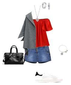 """OOTD 20/09/2016"" by ladykbaez on Polyvore featuring WithChic, IRO, Alex and Ani, Coach, Finn and Bling Jewelry"