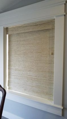 Window Shades: The Best Thing To Decor Your Windows Custom Drapes, Window Treatments Living Room, Shades Blinds, House Design, Natural Blinds, Blinds Design, Windows, Woven Wood Shades, Window Shades