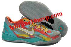 5a6ff6dbfdb6 Nike Kobe 8 System GC Stadium Grey Metallic Silver Tour Yellow 555286 002  Kd Shoes