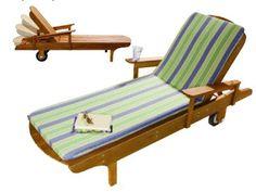 Ah! E se falando em madeira...: cadeira beira de piscinam projeto gratuito no blog