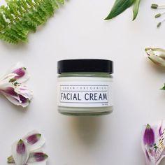 FACIAL CREAM // 2oz. Anti-Aging & Skin-Clearing Green Tea Moisturizer - - - Vegan ∙ Organic ∙ 100% Natural