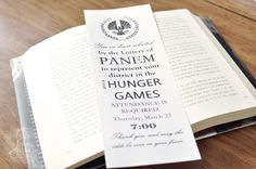 hunger games corner bookmark - Google Search