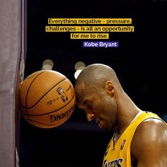 Who's a Kobe fan? Love this quote. #kobebryant #lakers #nba