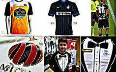 Esclusivo:tra tournèe Usa e maglie per gli sponsor,il calcio è dei soldi,non dei tifosi.Le foto delle maglie più assurde #calciomercato #inter #juventus #roma #soldi
