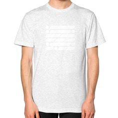M_O_R_S_E Light Variant Unisex T-Shirt (on man)