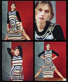 Stripes for spring in our ace April issue #outnow. : @luca.campri : @lucytempestwalker  via GLAMOUR UK MAGAZINE OFFICIAL INSTAGRAM - Celebrity  Fashion  Haute Couture  Advertising  Culture  Beauty  Editorial Photography  Magazine Covers  Supermodels  Runway Models