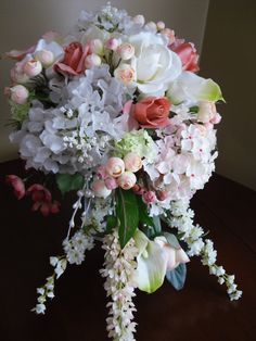 Vintage Victorian Wedding Boquet