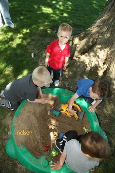 End of the year party festivities at Papillion Montessori