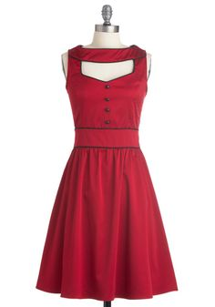 I'm officially in love. #Modcloth modcloth.com modcloth #reddress