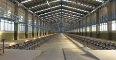ferrocarriles del sud: NUEVO TALLER PARA TRENES EN KILÓMETRO 5 DEL RAMAL ...