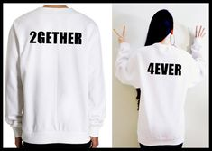 Together since shirts. Matching couple sweatshirts. His and Her shirts. Anniversary shirts. Gift for Couple. Wedding couple gift. Engagement